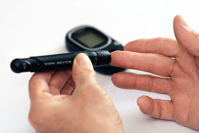 Those who need to test their blood sugar should also test their hearing