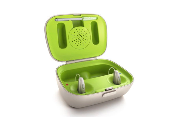 Phonak rechargeable hearing aid case